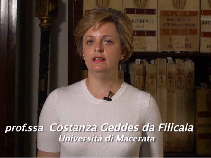 Storia della Misericordia, l'epidemia di peste in Italia raccontata dalla prof.ssa Costanza Geddes Da Filicaia, docente all'Università di Macerata